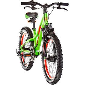 s'cool troX urban 20 7-S alloy Kinder neon green